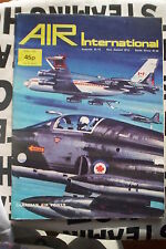 Air international magazine 1975 April griffin T2 War Civil aviation new aircraft