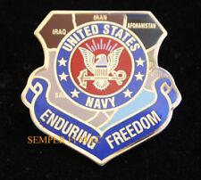 US NAVY ENDURING FREEDOM  Afghanistan OEF IRAQ USS HAT PIN NAS NAF FMF MARINES