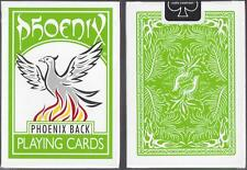 1 DECK Phoenix Master Edition green playing cards from Card-Shark