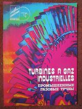 70'S DEPLIANT SNECMA HISPANO-SUIZA TURBINE A GAZ INDUSTRIELLE GAS TURBINE RUSSE