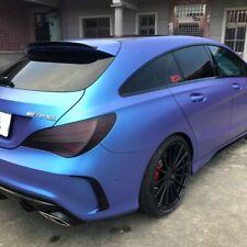 Stock 284 PDL Rear Trunk Spoiler Wing PUF For 14~18 Benz CLA X117 Shooting Brake