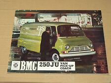 Catalogue Fourgon BMC LEYLAND 250 JU  Camion  truck 1968   prospectus  brochure