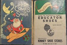 MARCH OF COMICS 213 HERE COMES SANTA MINI CHRISTMAS COMIC GIVEAWAY PROMO G+ 1960