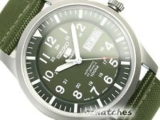 SEIKO 5 SPORTS MENS WATCH AUTOMATIC SNZG09J1 FREE EXPRESS JAPAN MADE SNZG09 wBOX