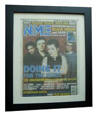 CRANBERRIES+Zombie+NME 1995+RARE ORIGINAL+VINTAGE+POSTER+FRAMED+FAST GLOBAL SHIP