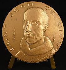 Médaille Saint Jean de Dieu né João Cidade Portugal Ordre des Hospitaliers medal