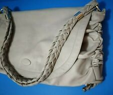 Tod's Beige Genuine Soft Leather Tote Handbag Pre-owned