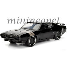 JADA 98300 FAST AND FURIOUS 8 DOM'S PLYMOUTH GTX 1/32 DIECAST MODEL CAR BLACK