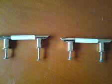 2 Maniglie Mobili Bianco/Oro cassetti Maniglia Maniglia Porta Maniglia Armadio