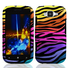 For Samsung Focus 2 i667 HARD Protector Case Snap on Phone Cover Color Zebra
