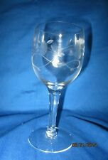 Princess house crystal wine glasses #420