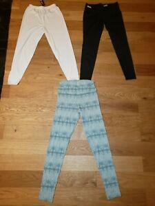 Lot of 3 Columbia Helly Hansen UA Pants Womens Medium Base Layer Bottoms