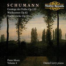SCHUMANN  piano music vol.4 - DANIEL LEVY