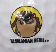 (1) TAZ TASMANIAN DEVIL LOONEY TUNES LOGO GOLF BALL