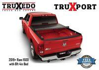 "TruXedo Truxport Tonneau Cover 2019 Dodge Ram 6'4"" Bed 286901"