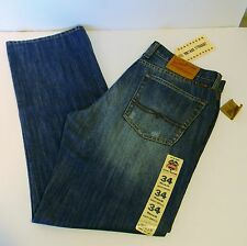 NWT's Lucky Brand Jeans Men's Sz 34 x 31.5 Vintage Straight Lowrise Regular Fit