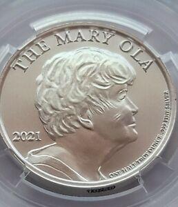 The Mary Ola Silver Bitcoin Cold Storage Wallet Casascius lealana Denarium Titan