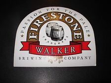 FIRESTONE WALKER passion Union Jack STICKER decal craft beer brewery Wookey Jack