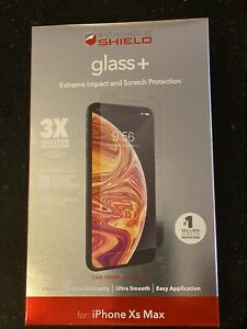 ZAGG iPhone 11 Pro Max Xs Max X Max Screen Protector Glass+