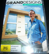 Grand Designs Complete Series Three 3 (Australia Region 4) DVD - New