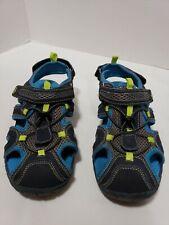 FALLS CREEK  Boy's Blue/Green/Navy Sandals Size 4
