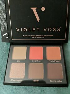 Violet Voss six color eyeshadow and pressed pigment palette