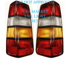 VOLVO 240 245 WAGON Tail Light Set of 2 NEW left and right 1372441 442 _