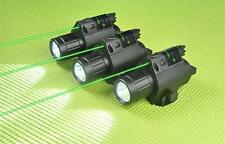 Tactical M6 LED Flashlight / LIGHT Combo + Green Laser Sight for Shotgun Glock