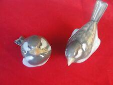 1081 & 1519 ROYAL COPENHAGEN VINTAGE FIGURINE BIRDS SPARROW