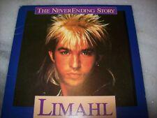 """7"""" Single P/S 45 - THE NEVERENDING STORY - LIMAHL/GIORGIO MORODER -1985- BRAZIL"""