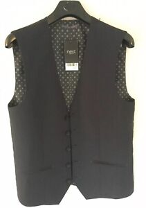 NEXT Men's Waistcoat Size 36 Regular BNWT RRP £40 Bargain Just £10 Opening Bid