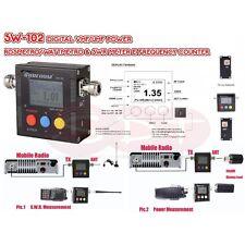 SURECOM SW-102 DIGITAL VHF/UHF POWER  ROSMETRO/WATTMETRO & SWR METER E FREQU