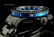 Invicta 47mm Grand Diver 2 Gen II Automatic Black & Blue Accent Bracelet Watch