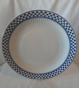 ADAMS IRONSTONE DINNER PLATES 25CM BRENTWOOD THREE LEAF CLOVER C1966+ VINTAGE