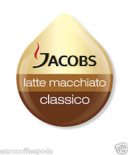 Tassimo Jacobs Latte Macchiato Coffee 48 T Disc 24 Servings Sold Loose