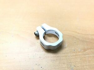 Snap BMX Products Series II Seat Post Clamp - 31.8mm White
