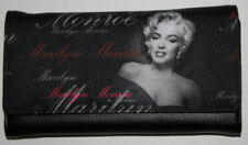New - Marilyn Monroe Tri-fold Collectible Black Wallet - Retired AI1101