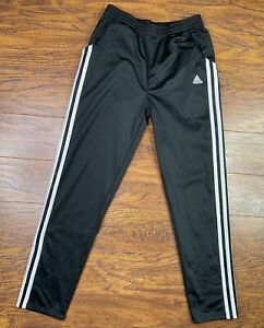 Boys Adidas Trio Soccer Track Pants Large Black G1