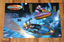 1996 Nintendo Wave Race 64 very rare small Retro Poster 42x28cm N64 Nintendo 64
