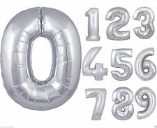 Number 10-50 Party Balloons