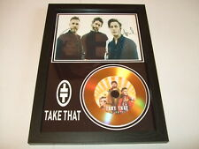 TAKE THAT   SIGNED  GOLD CD  DISC 2