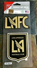 Perfect Cut Quality Decals  Stickers - 2 Pack LAFC - Los Angeles Football Club