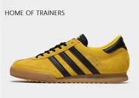 adidas Originals Beckenbauer Yellow Black MEN'S TRAINERS ALL SIZES