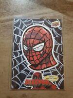 Spider-Man 1/1 Sketch Card Mike Morrison 2018 DEADPOOL Upper Deck