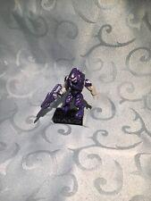 Halo Mega Bloks Covenant Drop Pod Metallic Series Purple Elite Figure - Minifig