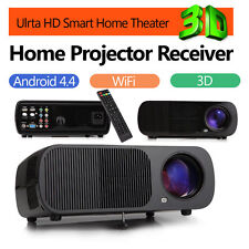 IRULU 3D Projector Android 4.4 WIFI HDMI LED LCD 1080P Home Audio Theater Cinema
