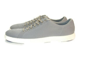 Cole Haan Sneakers Gray Grand Crosscourt Knit Shoes Mens Size 11 C27900