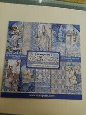 Winter Tale 8 X 8 Paper Pad For Craft, Mixed Media By Stamperia