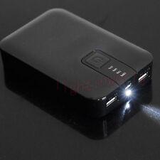 Universal 12000mAh USB Portable Battery Power Bank Charger LED Indicator. New