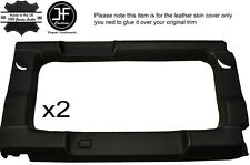 Gris piquer 2X vitre arrière panneau garniture en cuir couvre pour defender 110 sw 83-16